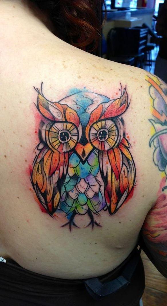 tatuagens-aquarela-de-coruja-10