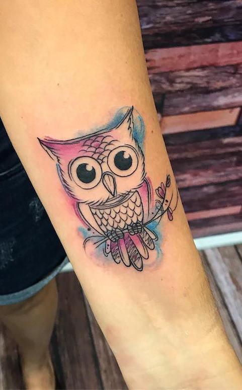 tatuagens-aquarela-de-coruja-12