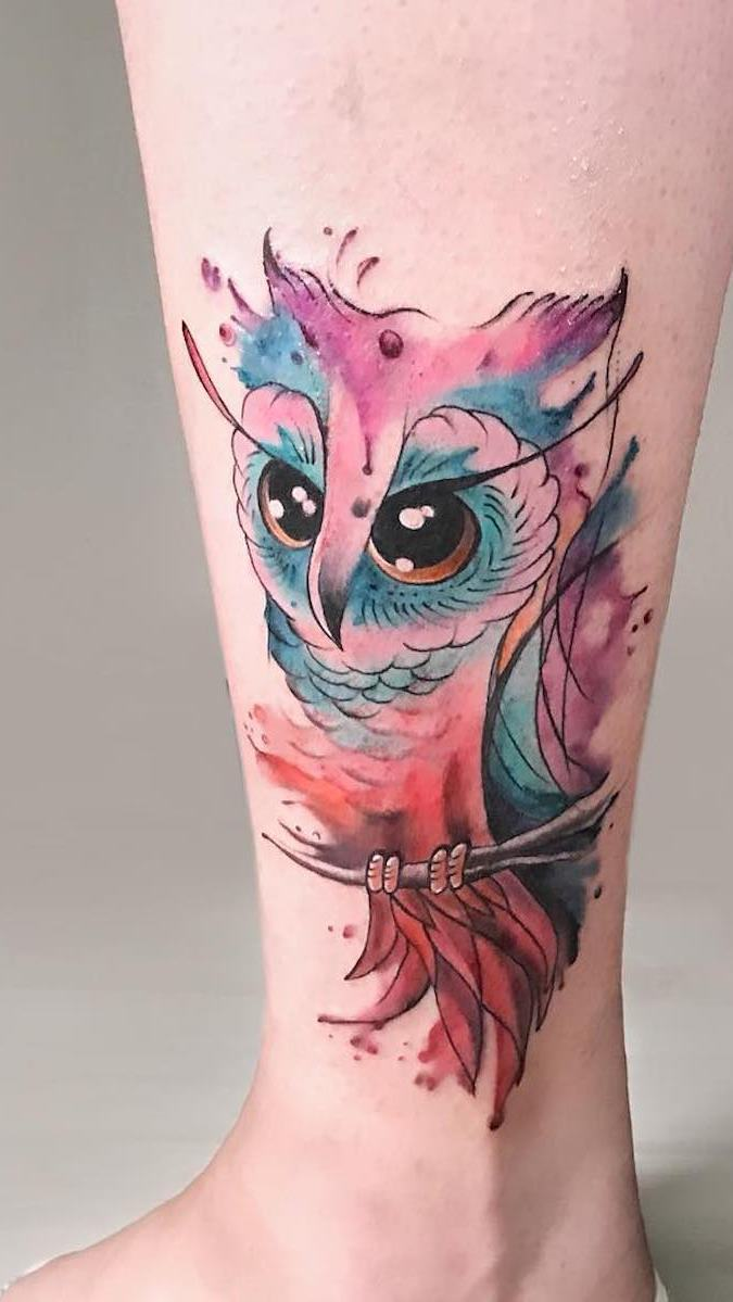 tatuagens-aquarela-de-coruja-13