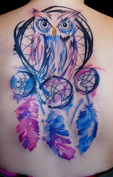 tatuagens-aquarela-de-coruja-15
