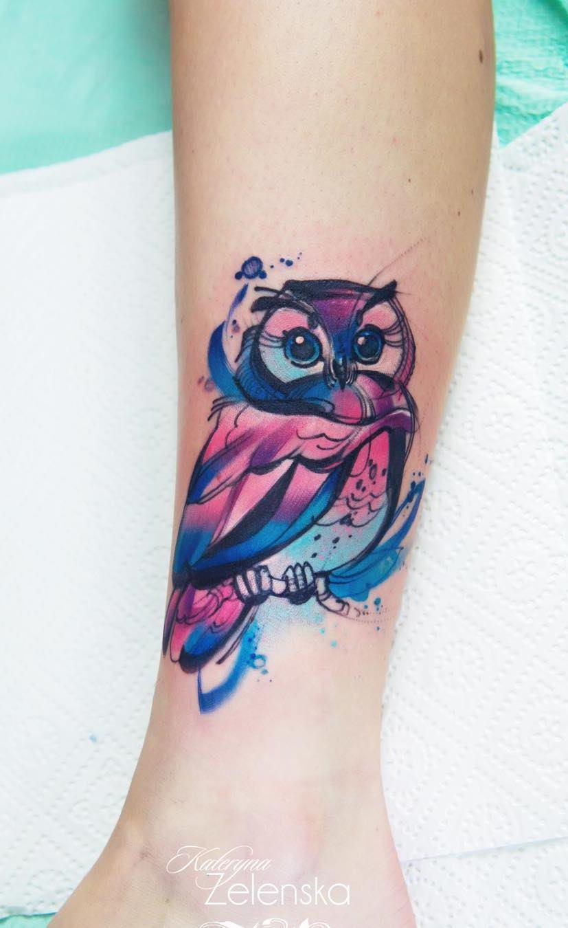tatuagens-aquarela-de-coruja-20