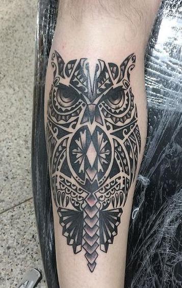 tatuagens-tribal-de-coruja-4