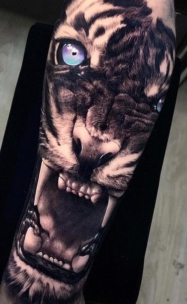 Fotos-de-tatuagens-de-tigre-6