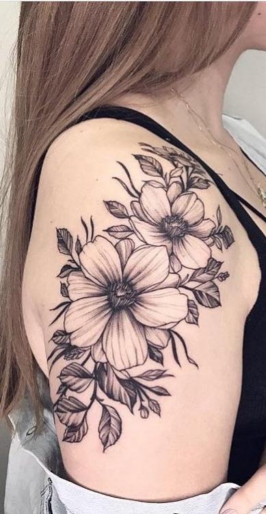 As 130 Melhores Tatuagens No Ombro Femininas Da Internet