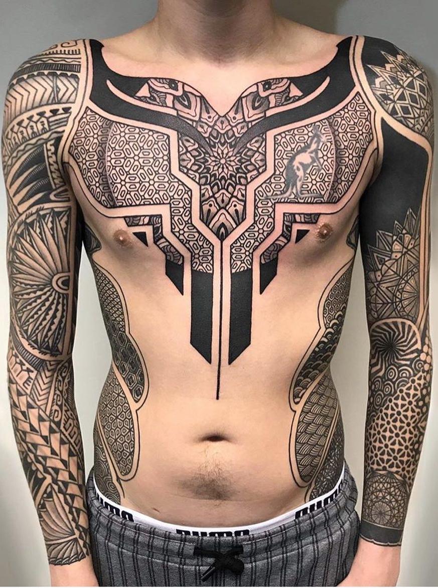 As 90 Melhores Tatuagens Na Barriga Masculinas E Femininas
