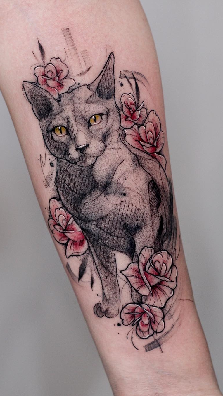 Fotos-de-tatuagens-de-gatos-9