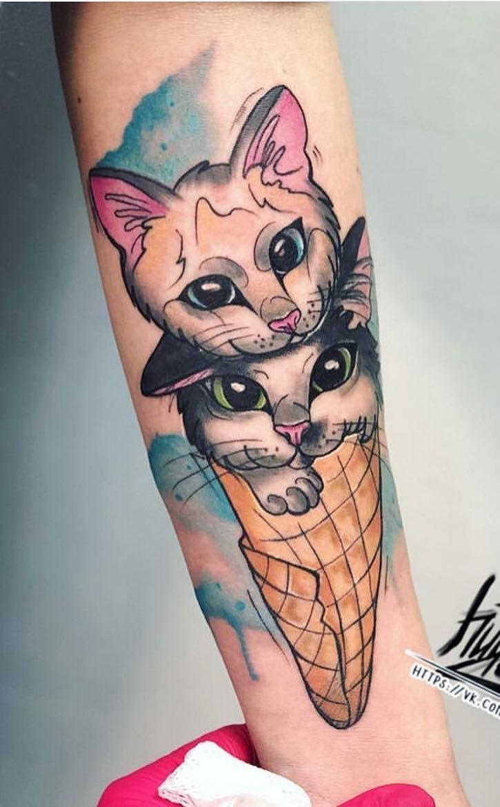 Tatuagens-de-gatos-em-aquarela-3