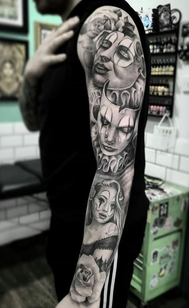 Braço-fechado-de-tatuagens-masculinas-19