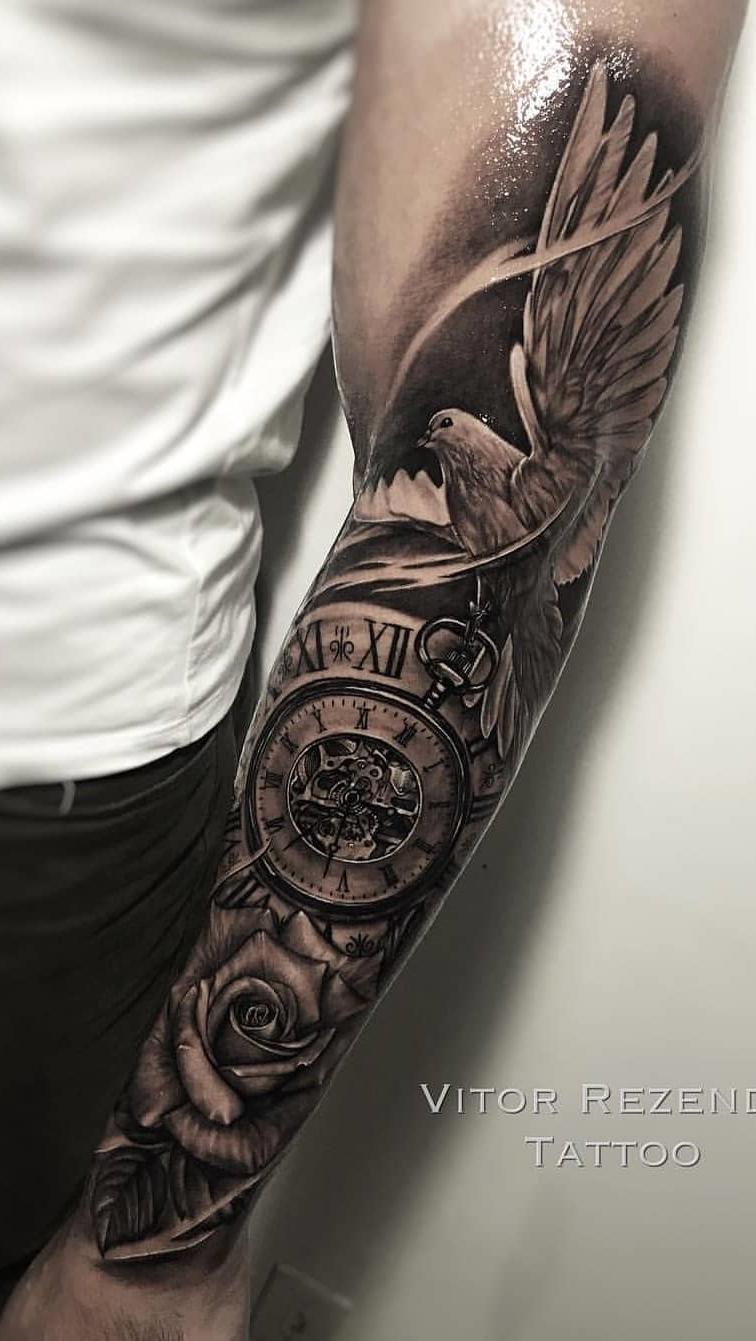 Fotos-de-tatuagens-masculinas-no-antebraço-17