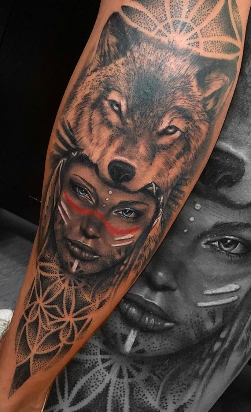 foto-de-tatuagem-de-lobo-2