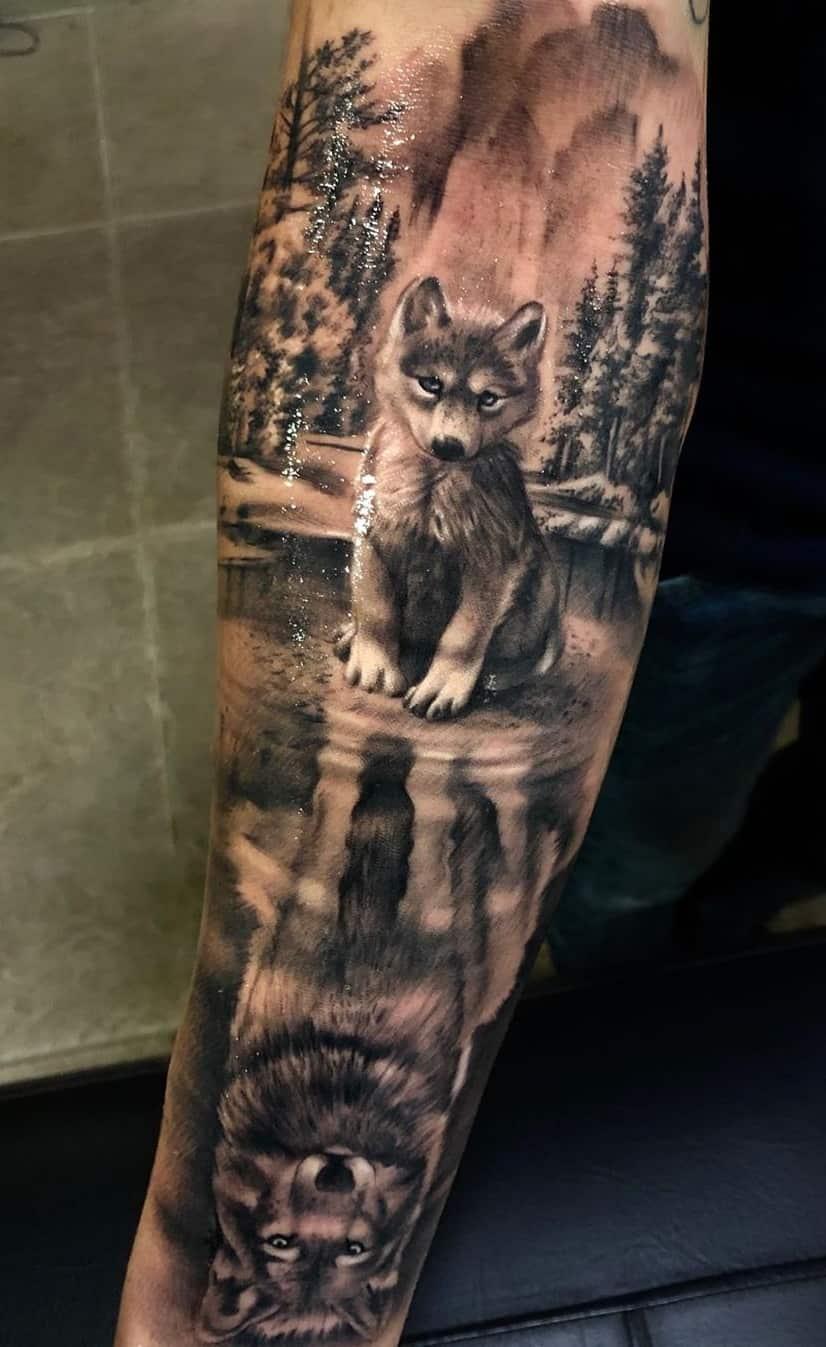 foto-de-tatuagem-de-lobo-4