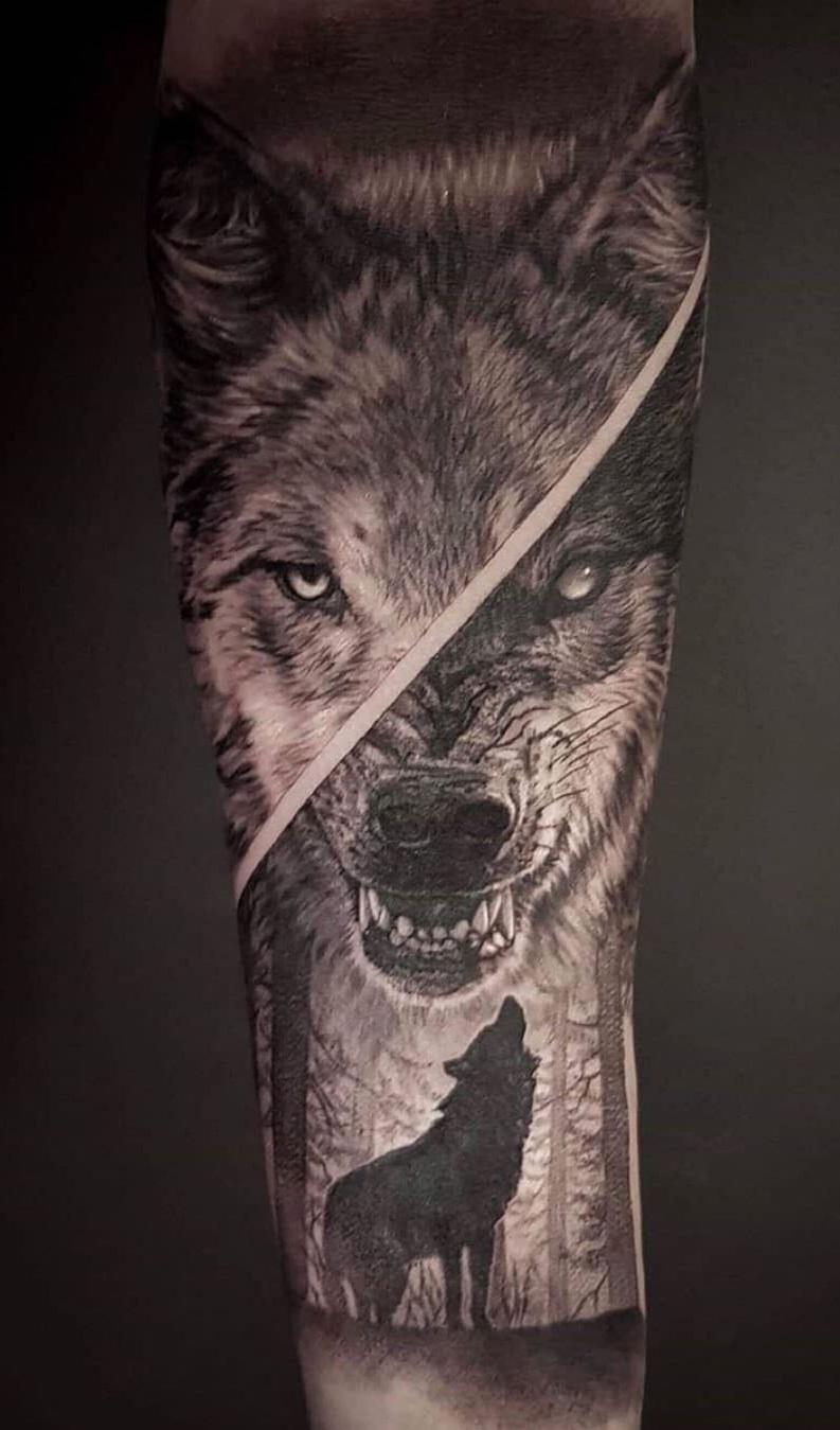 foto-de-tatuagem-de-lobo-7