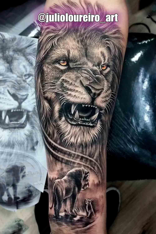 tatuagem-de-leao-no-antebraco-1