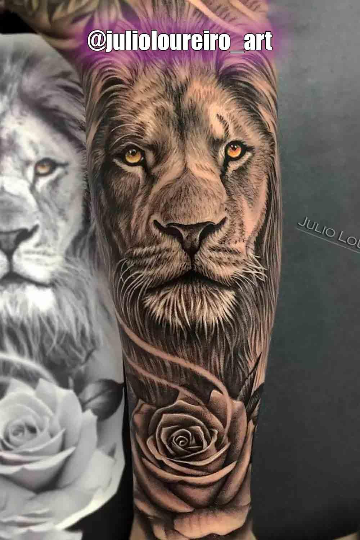 tatuagem-de-leao-no-antebraco-2