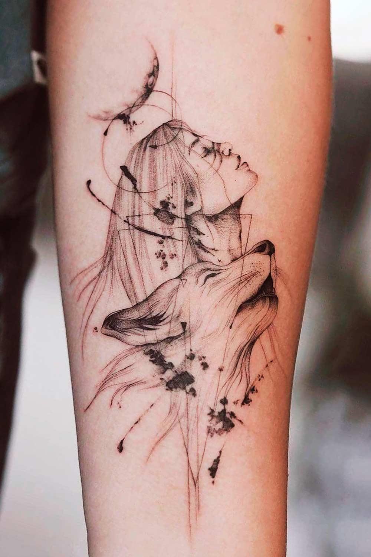 tatuagem-de-lobo-e-mulher