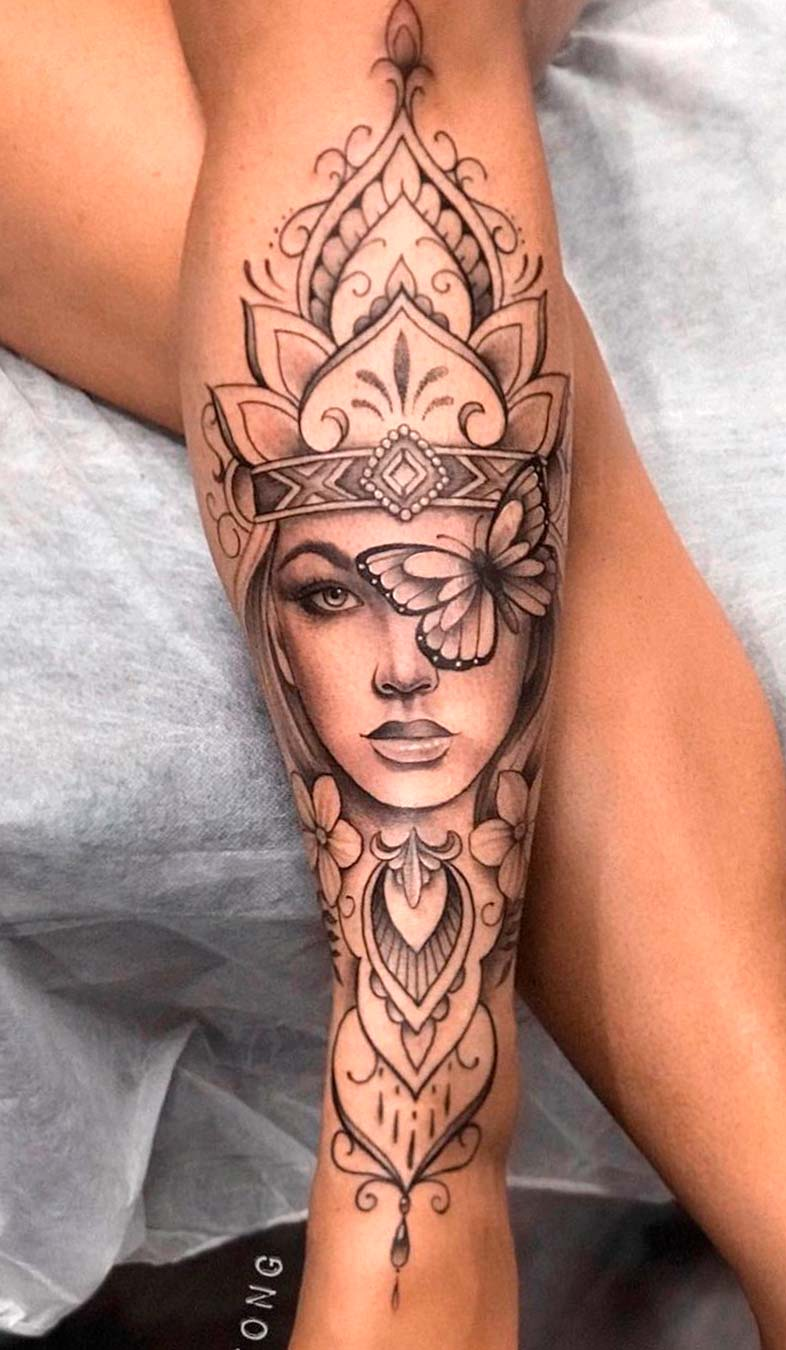 tatuagem-de-mulher-na-perna