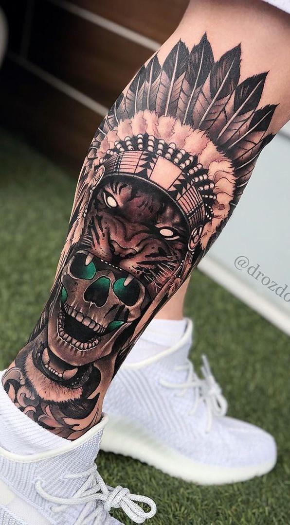 tatuagem-de-tigre-na-perna-1
