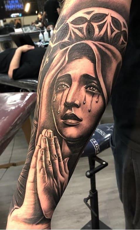 tatuagem-maria-mãe-de-jesus