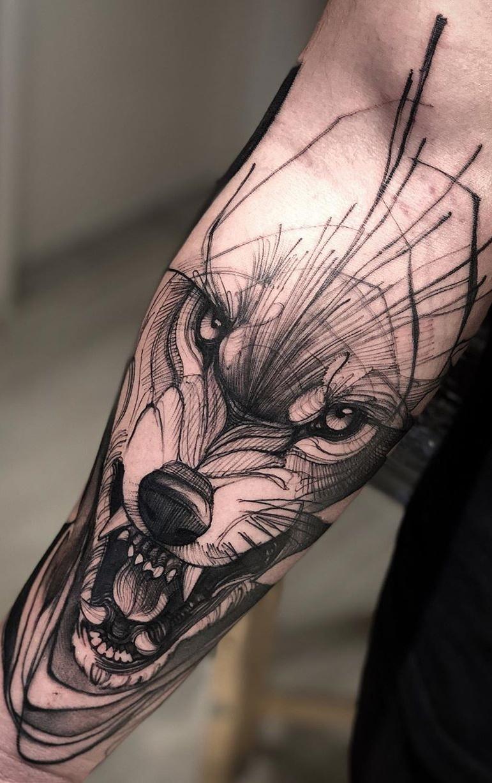 tatuagem-masculina-de-lobo-1
