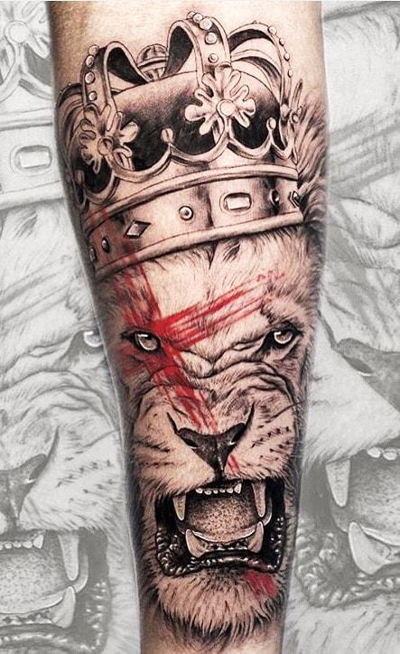 tatuagens-de-leão-masculinas-23