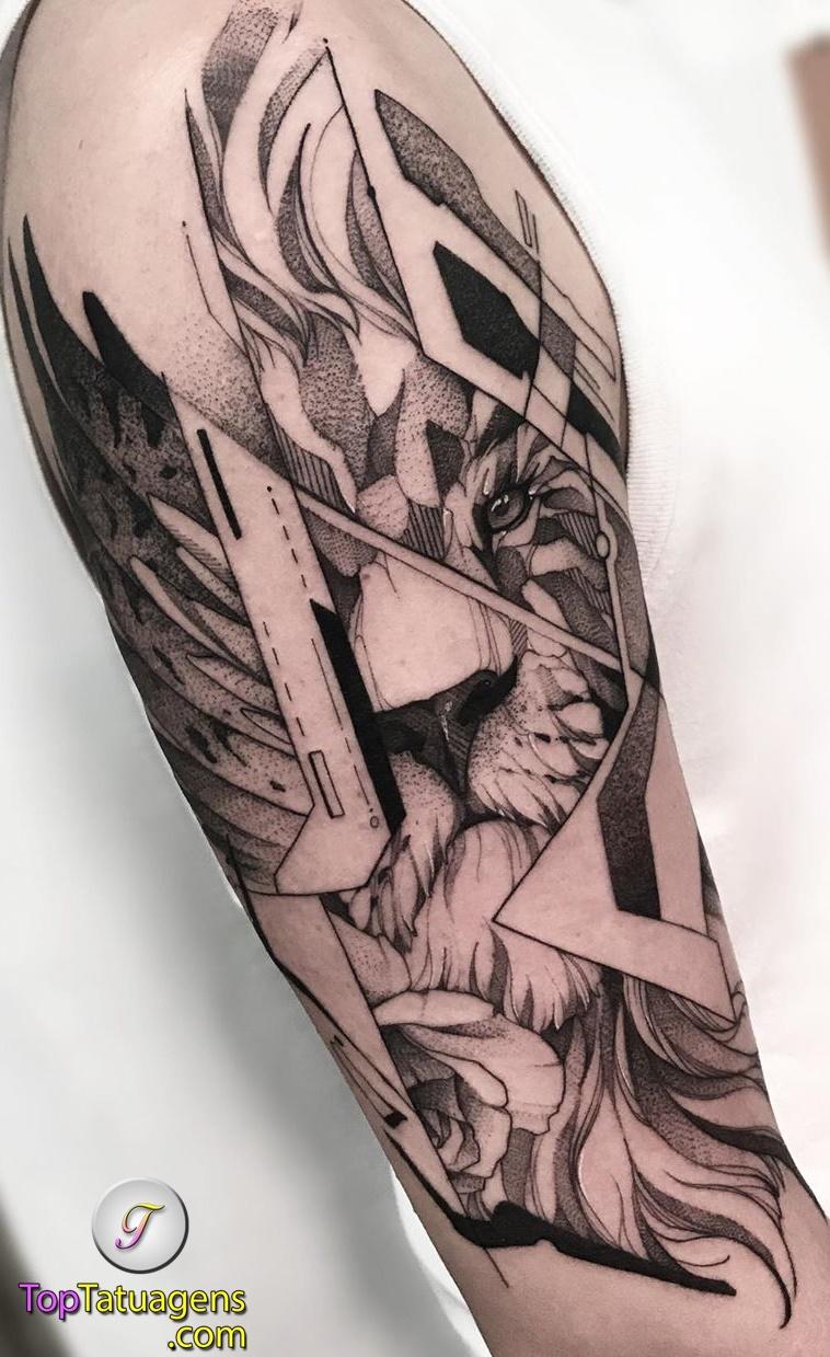 tatuagens-de-leão-masculinas-25