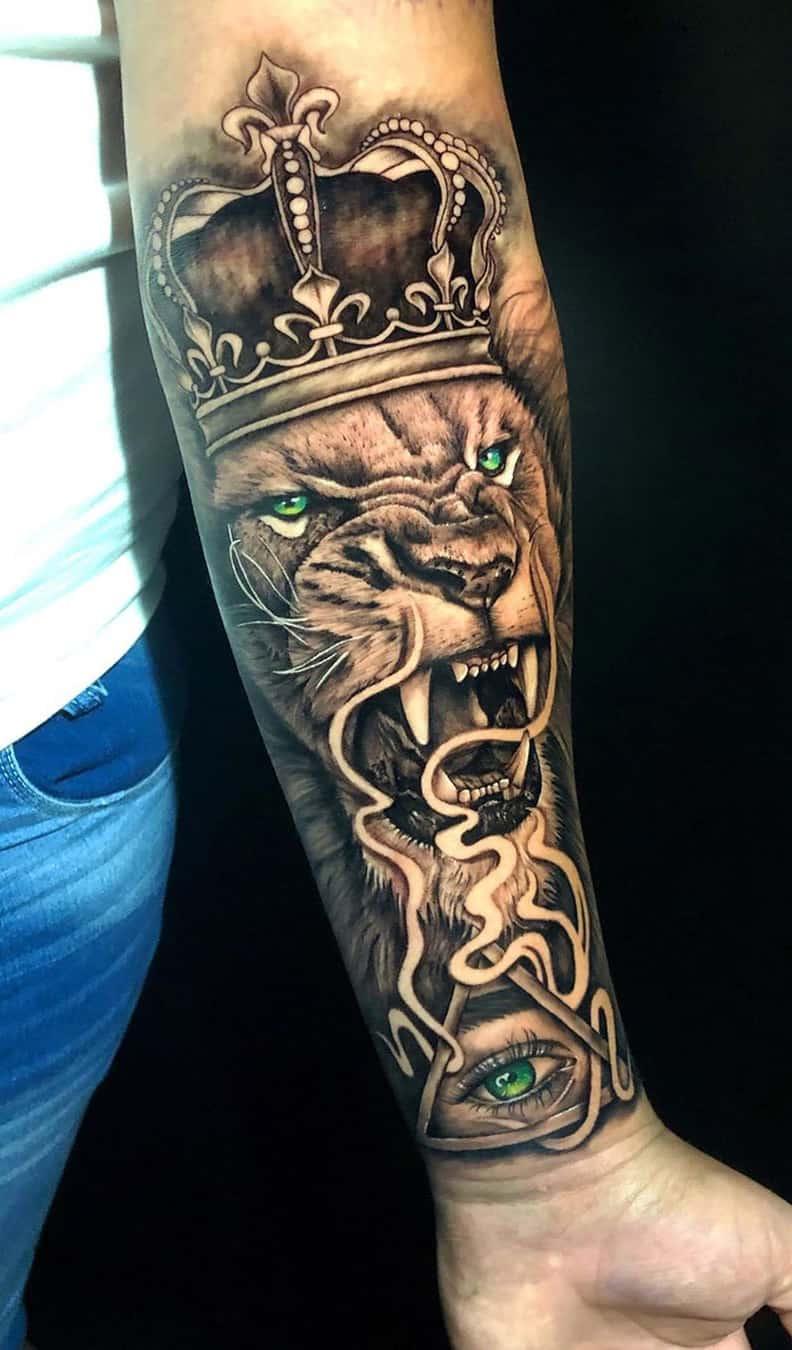 tatuagens-de-leão-masculinas-26
