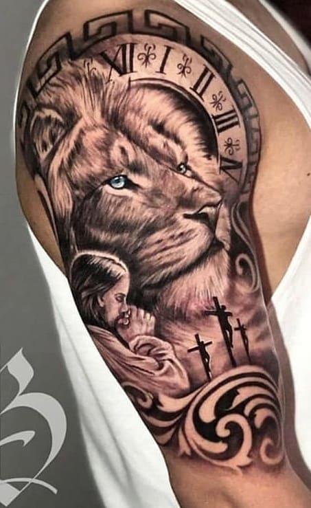 tatuagens-de-leão-masculinas-3