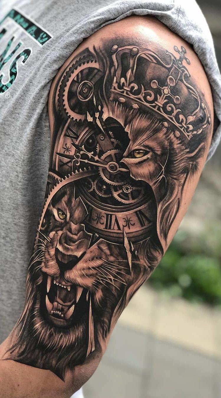 tatuagens-de-leão-masculinas-30