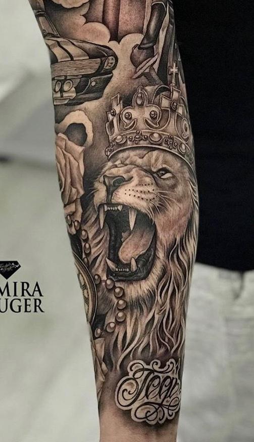 tatuagens-de-leão-masculinas-32