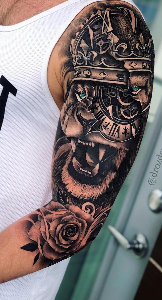 tatuagens-de-leão-masculinas-41