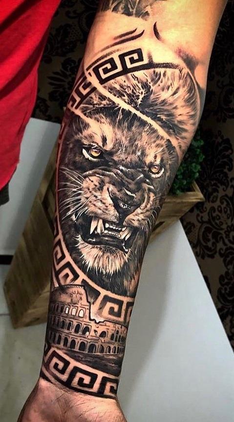 tatuagens-de-leão-masculinas-43