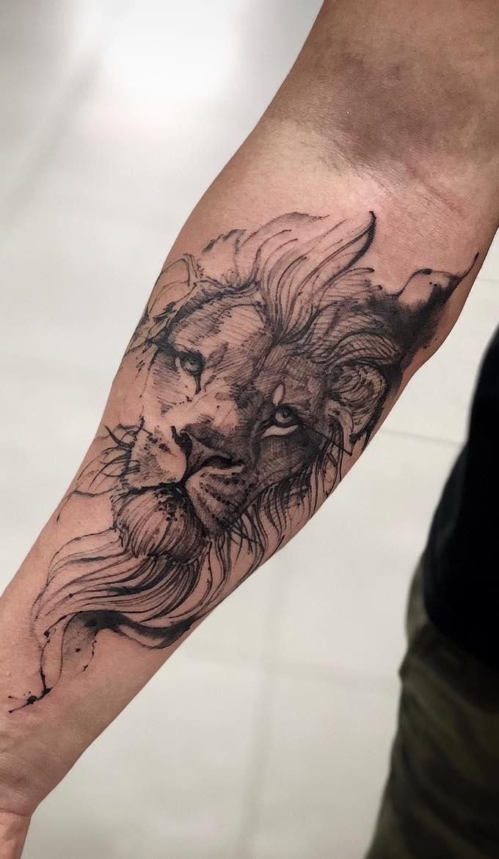 tatuagens-de-leão-masculinas-50