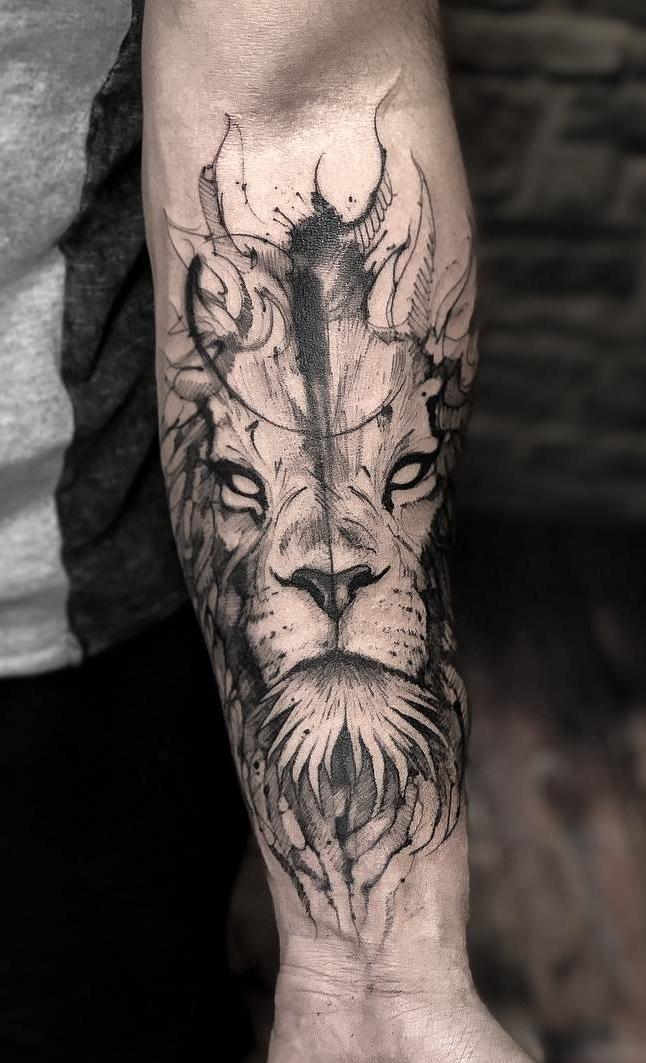 tatuagens-de-leão-masculinas-54