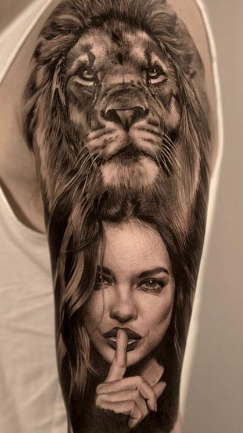 tatuagens-de-leão-masculinas-58