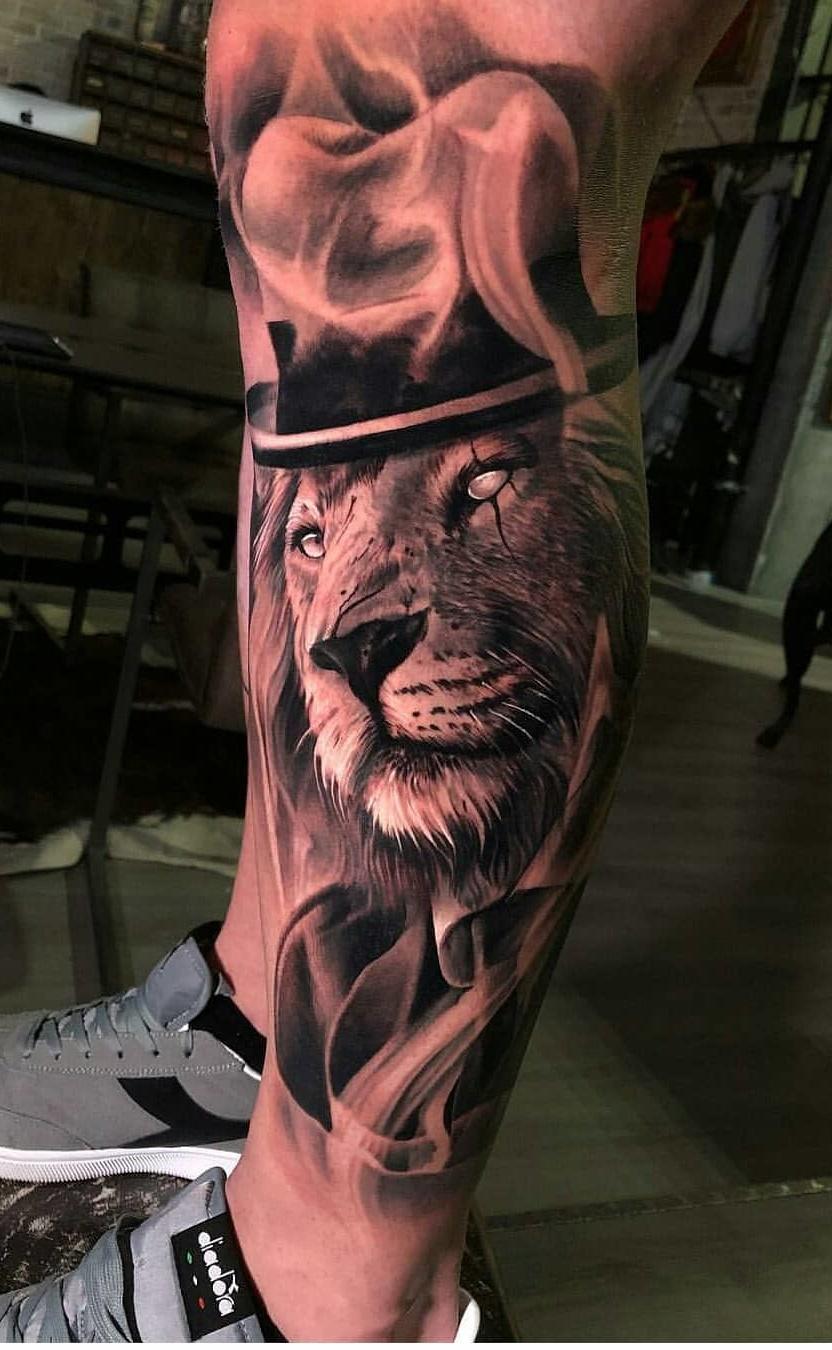 tatuagens-de-leão-masculinas-60