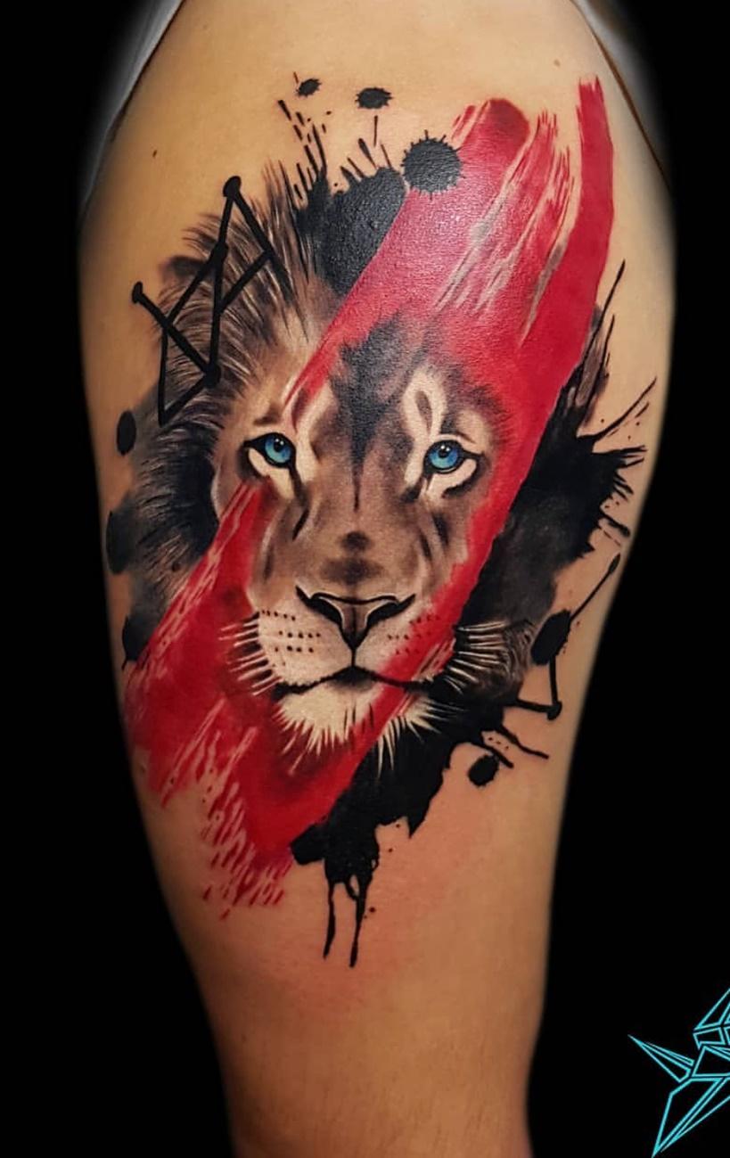 tatuagens-de-leão-masculinas-63