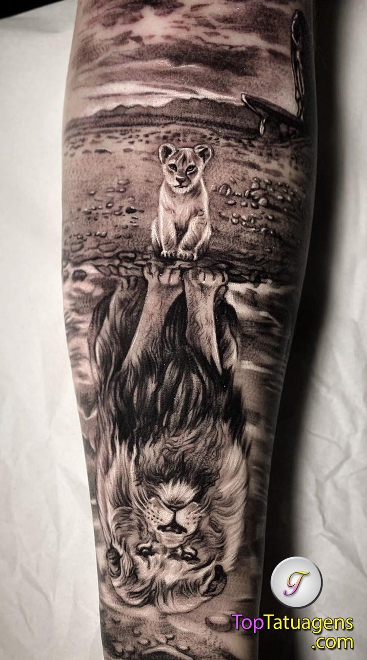 tatuagens-de-leão-masculinas-7