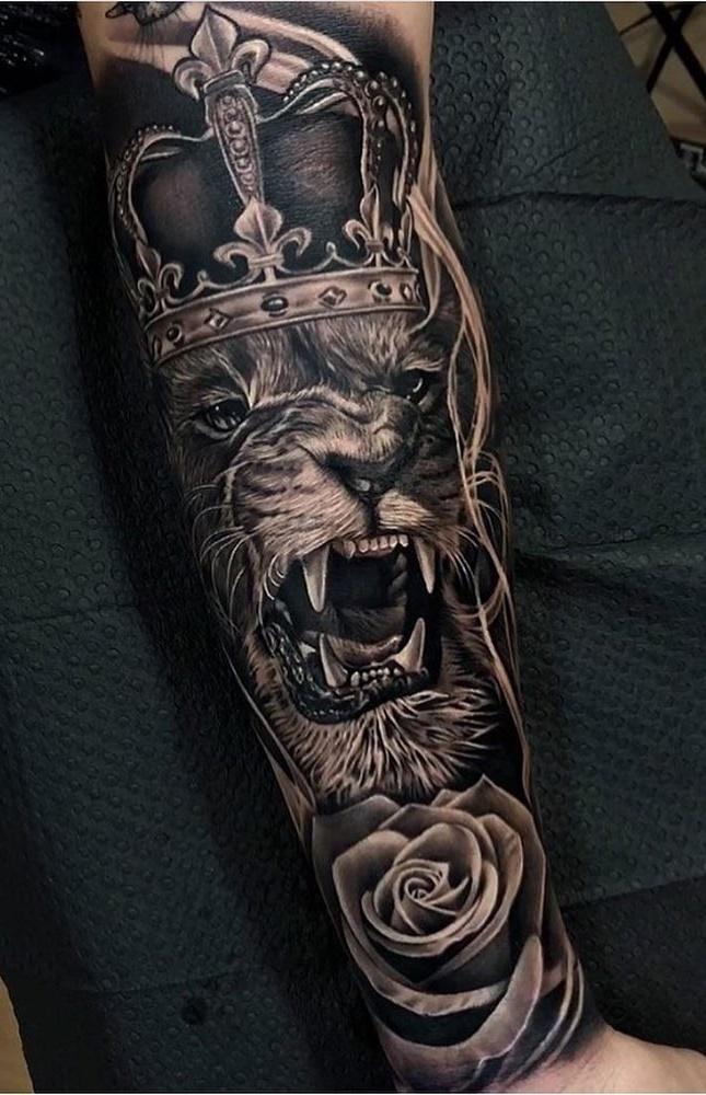 tatuagens-de-leão-masculinas-71