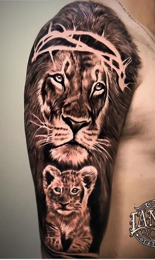 tatuagens-de-leão-masculinas-72