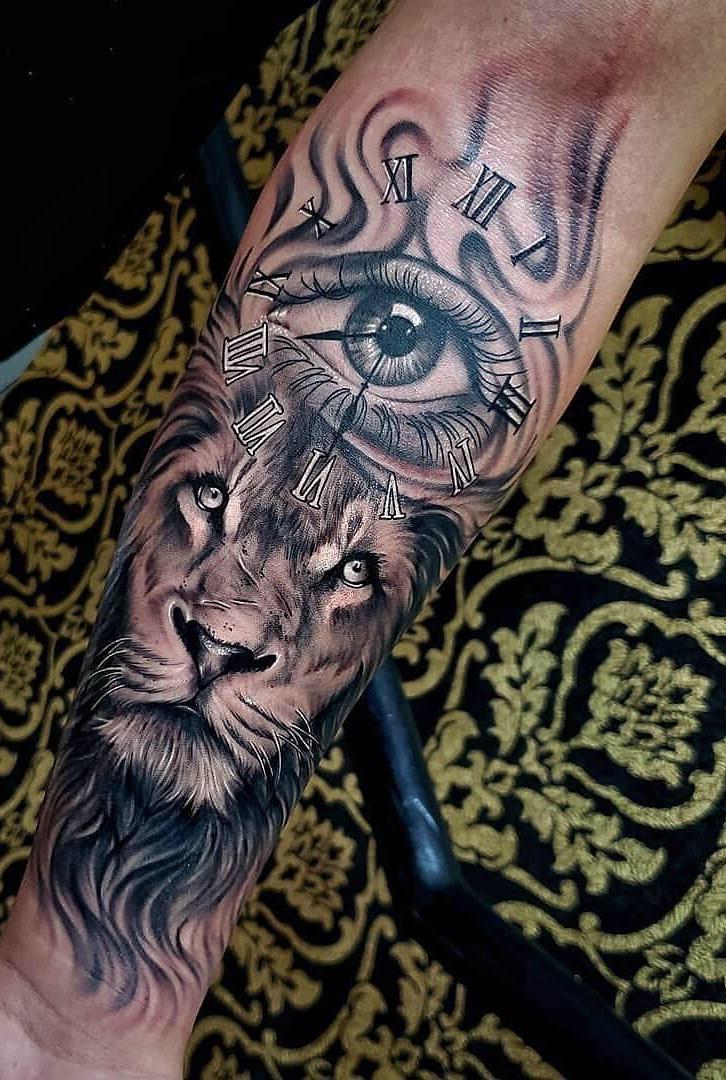 tatuagens-de-leão-masculinas-77