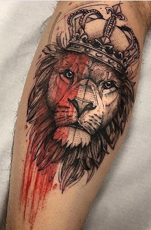 tatuagens-de-leão-masculinas-81