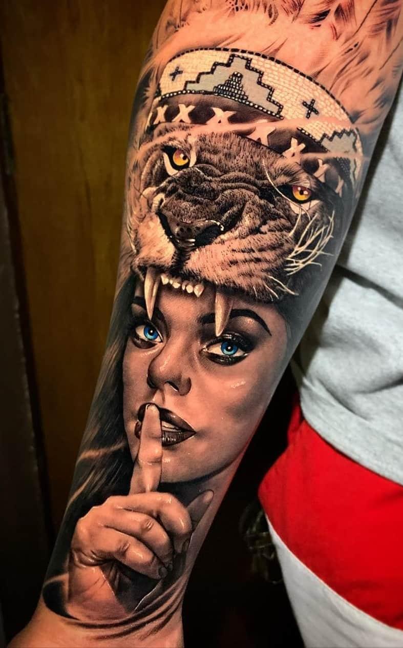 tatuagens-de-leão-masculinas-9