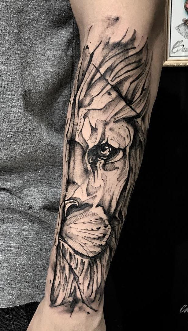 tatuagens-de-leão-masculinas-94