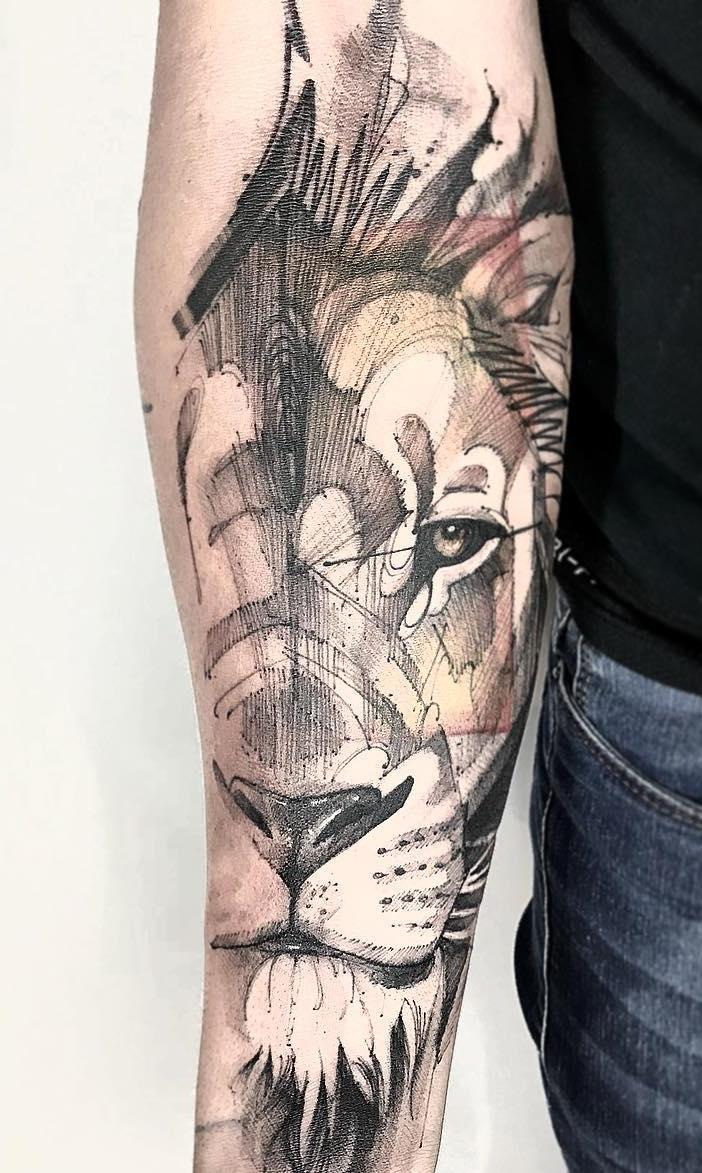 tatuagens-de-leão-masculinas-97