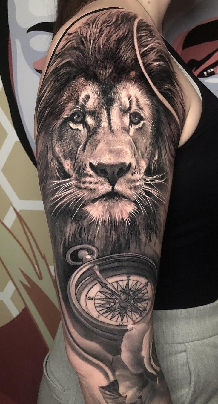 tatuagens-de-leão-masculinas-99