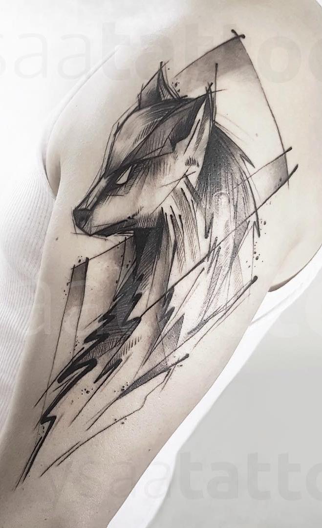 tatuagens-de-lobo-geométricas-1