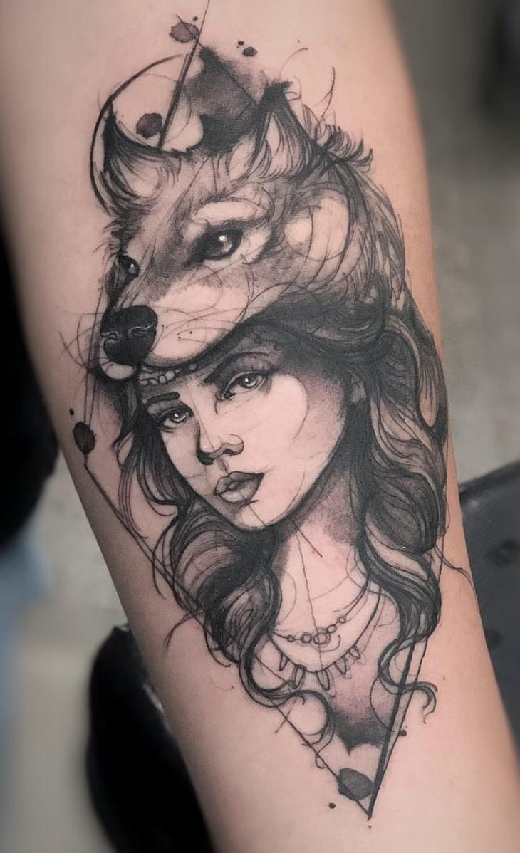 tatuagens-de-lobo-geométricas-9