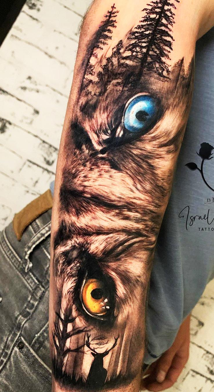 tatuagens-de-olhos-no-antebraço