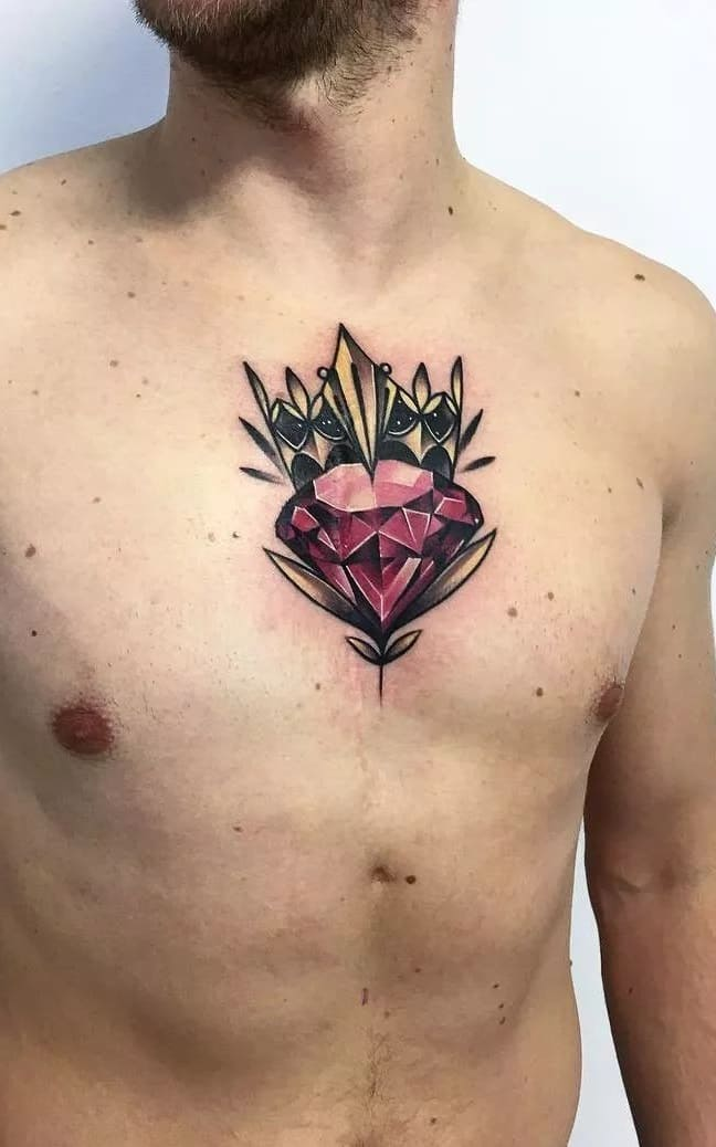 tatuagens-masculinas-no-peito-20