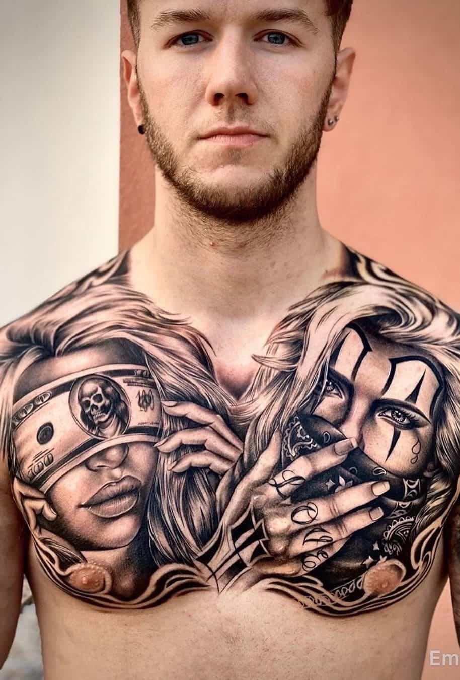 tatuagens-masculinas-no-peito-8